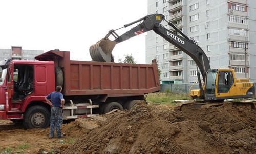 Вывоз грунта с утилизацией