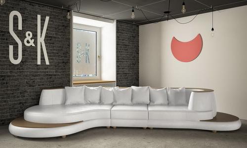 Стильные диваны в интерьере дома и офиса